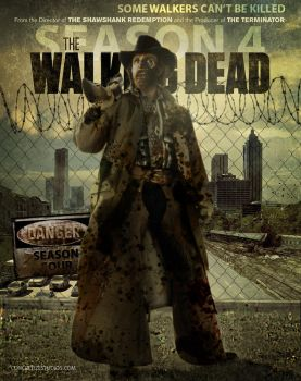 Walking Dead Season 4 Featuring The Texas Walker by Nuncio78