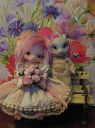 My bjd pigs by Neconetto