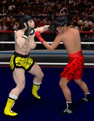 Li jaun Jin vs  Minhyun park by NightmareRacer85