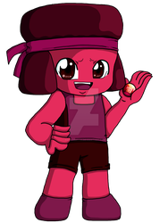 Ruby bookmark by Rena-Muffin