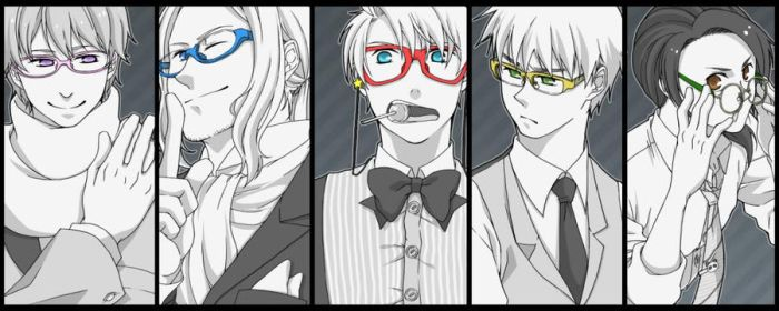 APH - Allies in Glasses by Draco-Love