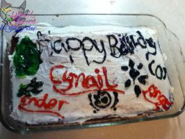 My 22nd birthday cake! PArt2 by AngelCnderDream14