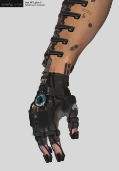 Eden Star Prop - Arm 'MATA Tool' Augmentation by gavinli