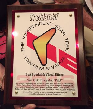 Star Trek Fan Film Awards For VFX for Renegades 20 by Casperium