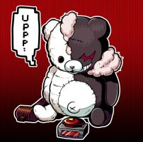 DanganRonpa- Monokuma by out69
