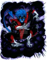 Hero 6:Nightcrawler color by nork