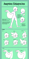 Amphies Subspecies [Open Species] by SerifDraws