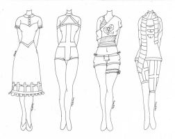Ursula~ (Outfit Designs) by Lovepiko