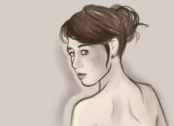 Pale study by Ombreuse