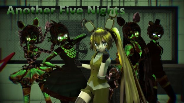 MMD Five Nights At Meiko's  - Another Five Nights by Torchic73