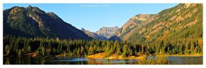 Gold Creek Pond Pano by Raymaker