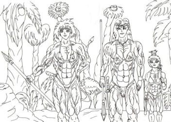 amazons by Luis3iguel