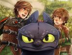 Hiccup vs Hiccup by Kadeart0