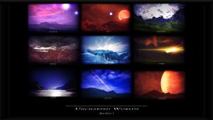 Uncharted Worlds by GSJennsen