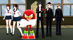 YanSim and Knuckles - The Martial Arts Club by FcoMk513