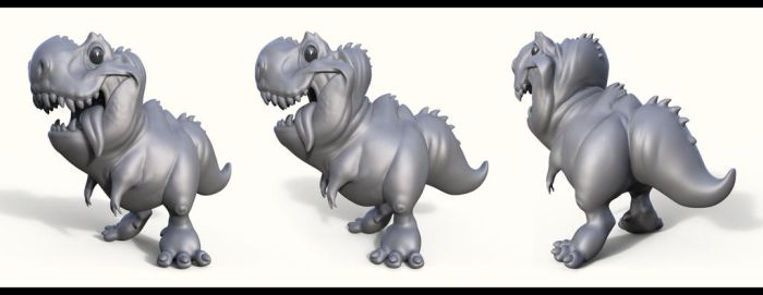 Little Rex Sculpt by Dvolution