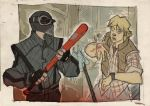 STAR WARS 80's High School - Vader and Luke by DenisM79