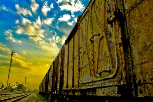 the train by eyeobscura