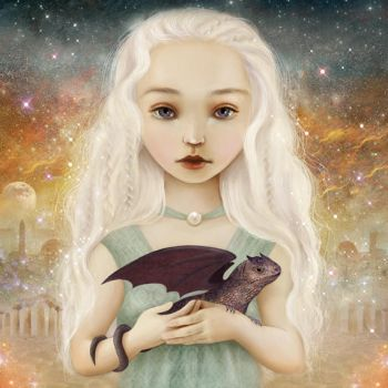 Mother of Dragons by meluseena