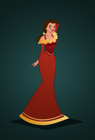 Belle Redesign 2 by OriginStory