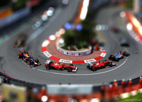 F1 Monaco (tilt shift) by craft666
