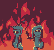 Playing with fire by Turag