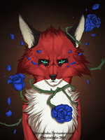 Blue Roses by Onyxiadrake