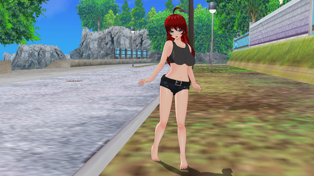 My Attempt to make Rias Gremony by UnknownGuy10