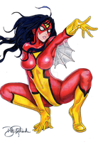 Spider Woman by B-Richards