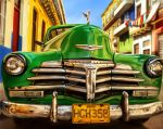 Colorful Classic Car by DrKujo