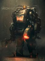 The Mechanic by blee-d
