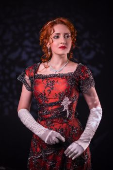 Rose cosplay from Titanic movie by ErikaShion