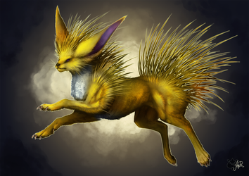 Jolteon my Style by JollyPiik