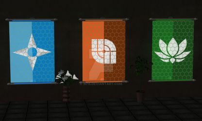 New Flags by 3015