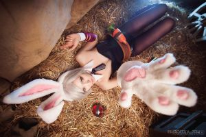 Battle Bunny Riven - Come to me by IscariotElian