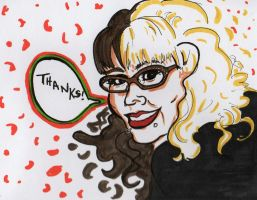 Thank You Card by MyThoughtsAreDeep