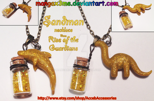 ROTG necklace Sandman NEW VERSION by MangaX3me