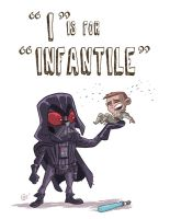 I Is For Infantile by OtisFrampton