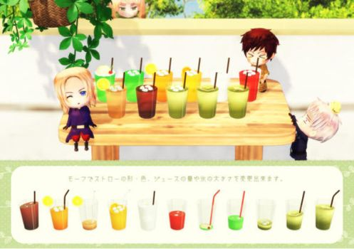 MMD Simple Juice set Download by Hack-Girl