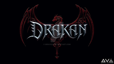 Metal band LOGO \m/, by MrAve20