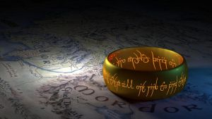 LOTR - the ring by Lynxette79