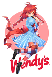 Wendy's by RayRie