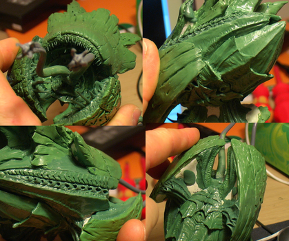 FEED ME SEYMOUR! (BFG - Hive ship WIP) by The-Build