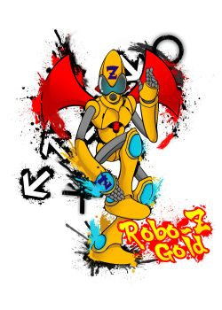 Robo - Z Gold by H8orSaints