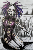 Maeve_violet Cyber by Inriah