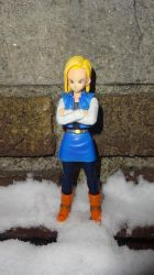 ANDROID 18 DRAGON BALL Z by xbueno123