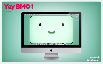 Yay BMO! - Wallpaper by EnzoFX