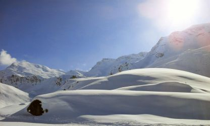Snow Hills by Floriarty