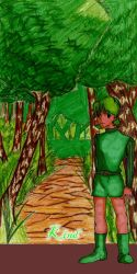 Tribute to Game Heroines-Saria by celeceravian
