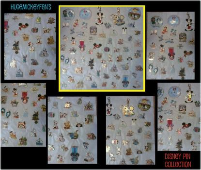 My Disney Pin Collection by Hugemickeyfan